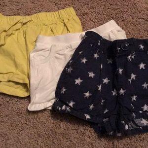 Baby Gap Toddler Shorts Bundle